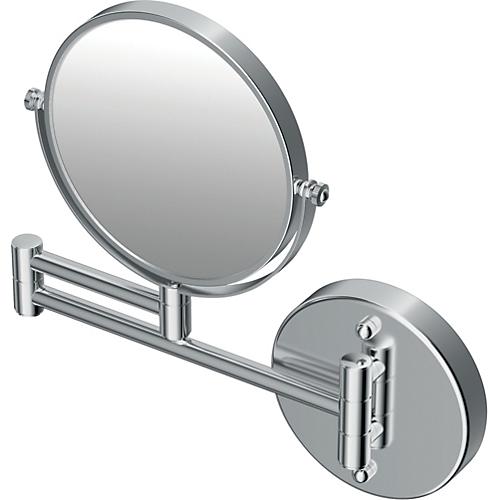 makeup spejl væghængt Børma makeup spejl væghængt. Krom   Brødrene Dahl makeup spejl væghængt